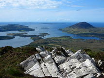 Parco nazionale di Connemara Fotografia Stock Libera da Diritti