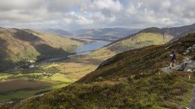 Parco nazionale di Connemara - Irlanda Immagini Stock
