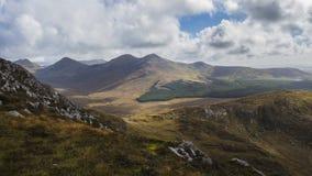 Parco nazionale di Connemara - Irlanda Fotografia Stock Libera da Diritti
