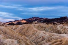 Parco nazionale di Death Valley fotografia stock