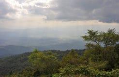 Parco nazionale di Doi Inthanon vicino a Chiang Mai Fotografia Stock Libera da Diritti