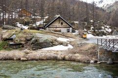 Parco nazionale di Ecrins Immagine Stock Libera da Diritti