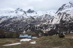 Parco nazionale di Ecrins Fotografie Stock