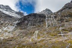 Parco nazionale di Fjordland, alpi del sud, Nuova Zelanda Immagine Stock Libera da Diritti