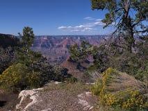 Parco nazionale di Grand Canyon dall'orlo del sud in Arizona Fotografia Stock