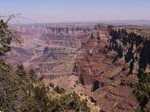 Parco nazionale di Grand Canyon dall'orlo del sud in Arizona Immagine Stock