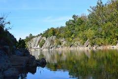Parco nazionale 7 di Great Falls Fotografie Stock Libere da Diritti