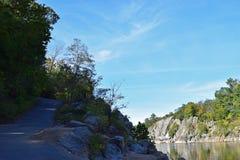 Parco nazionale 9 di Great Falls Fotografie Stock