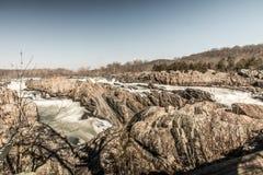Parco nazionale di Great Falls fotografie stock libere da diritti