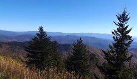 Parco nazionale di Great Smoky Mountains in autunno Fotografia Stock Libera da Diritti