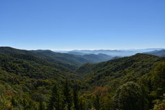 Parco nazionale di Great Smoky Mountains nel Tennessee Fotografia Stock