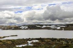 Parco nazionale di Hardangervidda Fotografie Stock Libere da Diritti