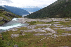 Parco nazionale di Hardangervidda, Norvegia Immagine Stock Libera da Diritti
