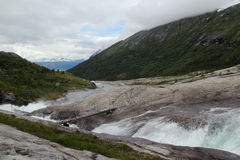 Parco nazionale di Hardangervidda, Norvegia Immagini Stock Libere da Diritti