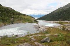 Parco nazionale di Hardangervidda, Norvegia Immagini Stock