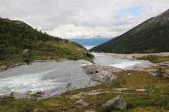 Parco nazionale di Hardangervidda, Norvegia Fotografie Stock Libere da Diritti
