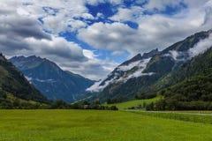 Parco nazionale di Hohe Tauern, alpi - Austria Immagini Stock