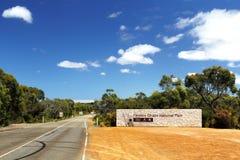 Parco nazionale di inseguimento del Flinders Fotografie Stock Libere da Diritti