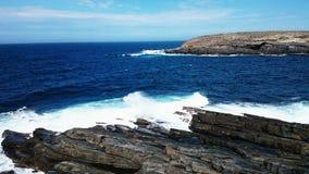 Parco nazionale di inseguimento del Flinders di vista di oceano @ immagine stock