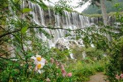 Parco nazionale di Jiuzhaigou, Cina fotografia stock