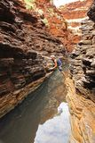 Parco nazionale di Karijini, Australia occidentale Immagine Stock Libera da Diritti