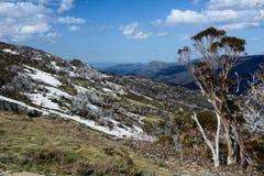 Parco nazionale di Kosciuszko in Australia fotografia stock