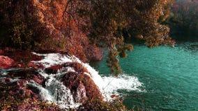 Parco nazionale di Krka - autunno Fotografia Stock