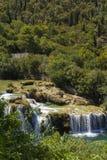 Parco nazionale di Krka, Croazia, il 14 agosto 2017 Fotografie Stock Libere da Diritti
