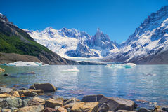 Parco nazionale di Los Glaciares Immagini Stock Libere da Diritti