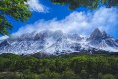 Parco nazionale di Los Glaciares Fotografie Stock Libere da Diritti