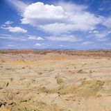 Parco nazionale di Luna della La di Vale de (valle della luna) Fotografia Stock Libera da Diritti