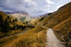 Parco nazionale di Mercantour, fra la Francia e l'Italia Fotografie Stock Libere da Diritti