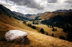 Parco nazionale di Mercantour, fra la Francia e l'Italia Immagine Stock Libera da Diritti