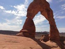 Parco nazionale di Moab Utah fotografia stock libera da diritti
