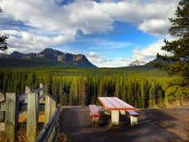 Parco nazionale di Montagne Rocciose Banff del canadese Immagini Stock