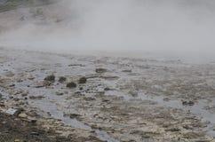 Parco nazionale di Paintpots Yellowstone degli artisti, Wyoming Fotografia Stock Libera da Diritti