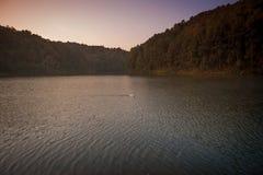 Parco nazionale di Pang Ung della provincia Tailandia di Mae Hong Son Fotografie Stock