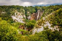 Parco nazionale di Plitvice Immagini Stock Libere da Diritti