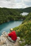 Parco nazionale di Plitvice (Croazia) Fotografia Stock