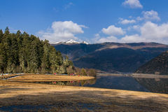 Parco nazionale di Potatso nella provincia di Yunnan, Cina Fotografie Stock Libere da Diritti