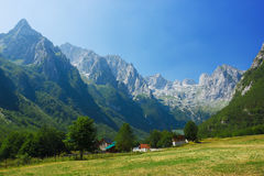 Parco nazionale di Prokletije Fotografie Stock