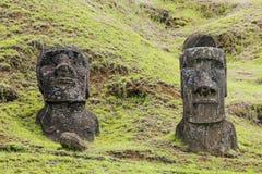 Parco nazionale di Rapa Nui fotografia stock libera da diritti
