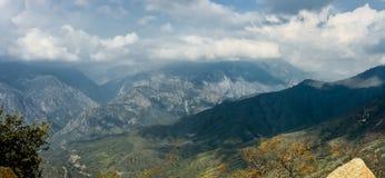 Parco nazionale di re Canyon Immagini Stock Libere da Diritti