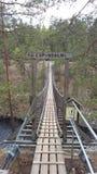 Parco nazionale di Repovesi Fotografie Stock