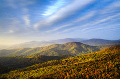 Parco nazionale di Shenandoah Fotografie Stock