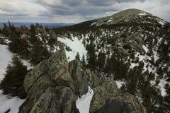 Parco nazionale di Taganai Montagna di Kruglitsa 1178 m. Immagine Stock Libera da Diritti