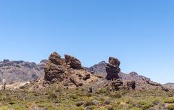 Parco nazionale di Teide (Canadas del Teide) Fotografie Stock Libere da Diritti