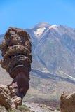 Parco nazionale di Teide (Canadas del Teide) Immagine Stock