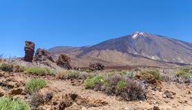 Parco nazionale di Teide (Canadas del Teide) Fotografia Stock Libera da Diritti