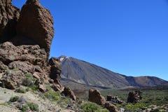 Parco nazionale di Teide - Tenerife - EL Teide del vulcano fotografia stock